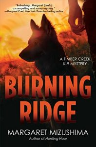 Cover of Burning ridge by Margaret Mizushima